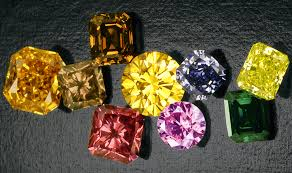 How Are Diamonds Colored ?